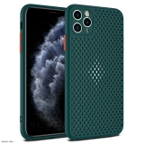 Xiaomi Redmi Note 9 Breath szilikon tok zöld