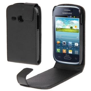 Samsung Galaxy Young S6310 Fekete flip tok