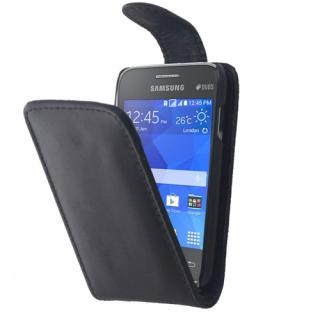Samsung Galaxy Young 2 / G130 Fekete flip tok