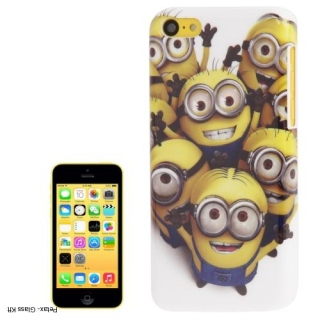 iPhone 5G & 5S -re minionos műanyag tok